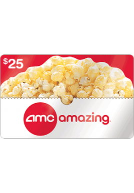 AMC  $25 [Digital Code]