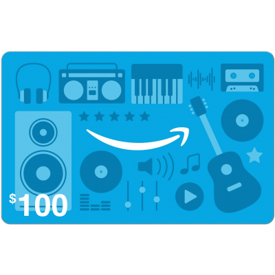 Amazon.com Music $100 [Digital Code]