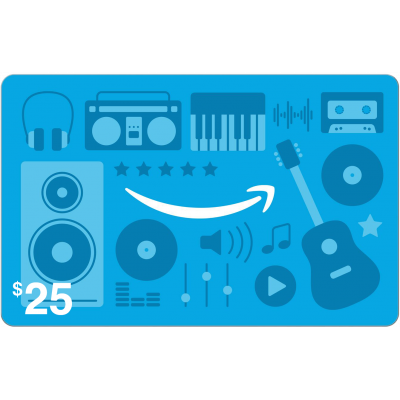 Amazon.com Music $25 [Digital Code]