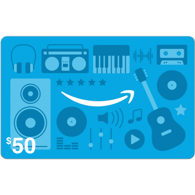 Amazon.com Music $50 [Digital Code]