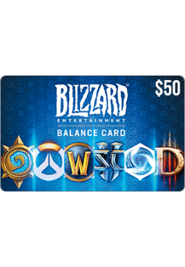Blizzard Balance $50 [Digital Code]