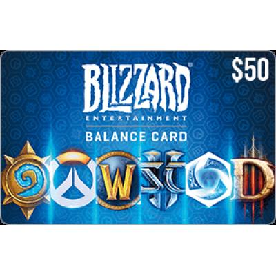 Blizzard Balance $50
