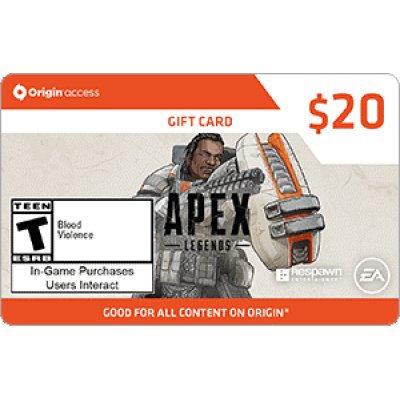 EA Origin Access Apex Legends $20