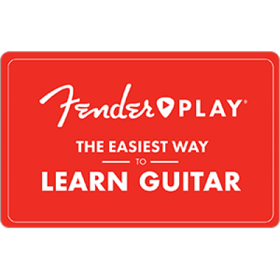 Fender Play 12 Month