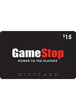 GameStop $15 [Digital Code]