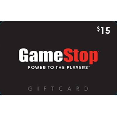 GameStop $15