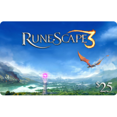 Jagex RuneScape $25 [Digital Code]