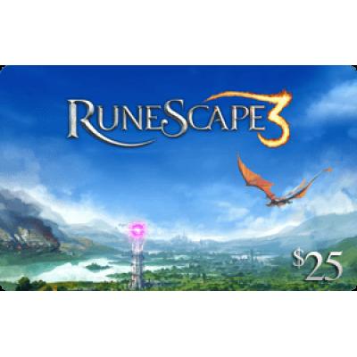 Jagex RuneScape $25