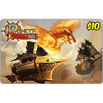 Kingsisle Pirate 101: $10 [Digital Code]