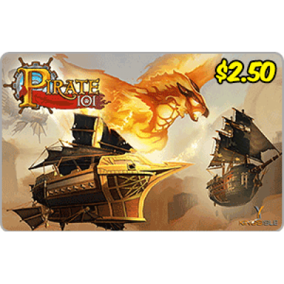 Kingsisle Pirate 101: 1,250 Crowns $2.50 [Digital Code]
