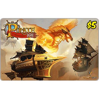 Kingsisle Pirate 101: 2,500 Crowns $5.00 [Digital Code]