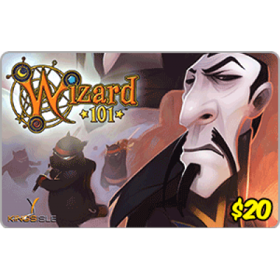 Kingsisle Wizard 101: $20 [Digital Code]