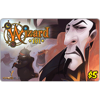 Kingsisle Wizard 101: 2,500 Crowns $5.00