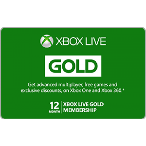 Month Xbox Live Gold Membership. month subscription to Xbox Live Gold enables advanced multiplayer options and provides access to free and discounted games.