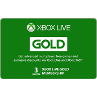 Xbox Live 3 Month Gold Membership [Digital Code]