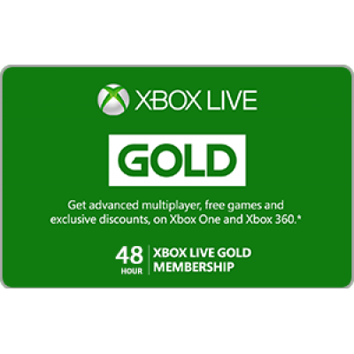 Xbox Live 48 Hour Gold Membership Trial [Digital Code]