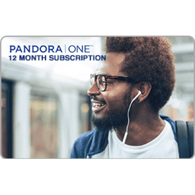 Pandora ONE 12 Month [Digital Code]