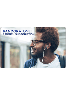Pandora ONE 3 Month [Digital Code]