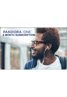 Pandora ONE 6 Month [Digital Code]