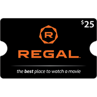 Regal Cinemas $25