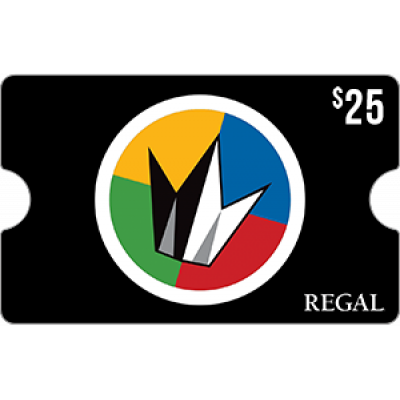 Regal Cinemas $25 [Digital Code]