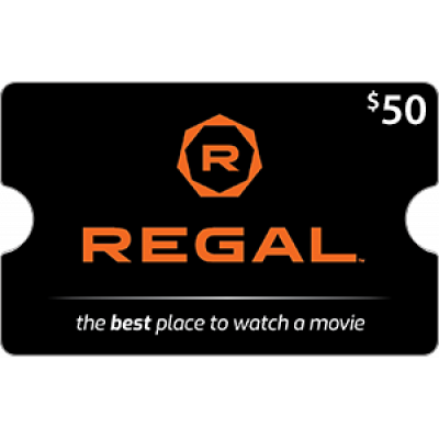 Regal Cinemas $50 [Digital Code]
