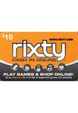 Rixty $10 [Digital Code]