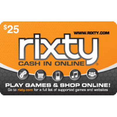 Rixty $25 [Digital Code]