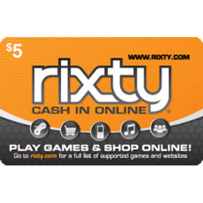 Rixty $5 [Digital Code]