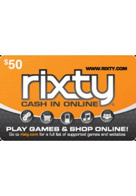 Rixty $50 [Digital Code]