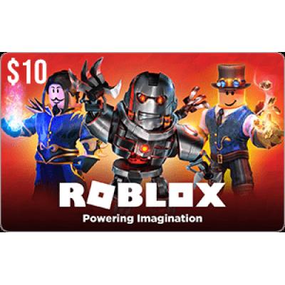 Roblox $10 Game Card