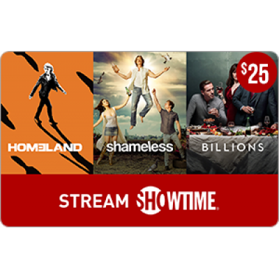 SHOWTIME® $25 [Digital Code]