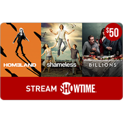 SHOWTIME® $50 [Digital Code]