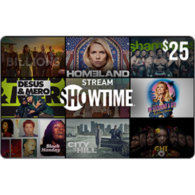 SHOWTIME® $25