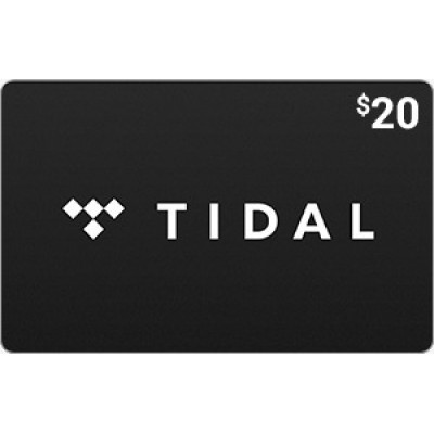 TIDAL $20 [Digital Code]