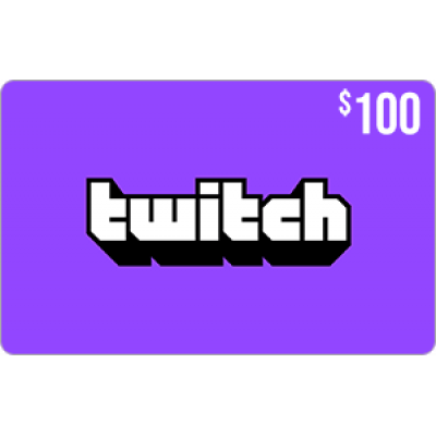 Twitch Gift Card $100