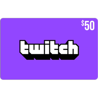 Twitch Gift Card $50