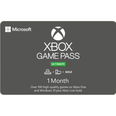 Xbox 1 Month Game Pass Ultimate $14.99