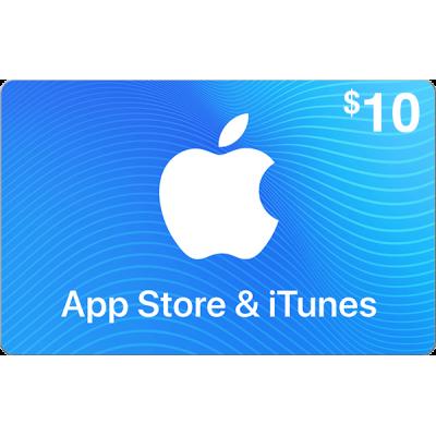 App Store & iTunes $10