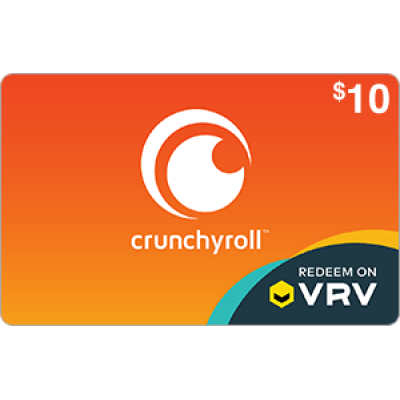 Crunchyroll on VRV $10
