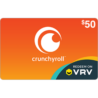 Crunchyroll on VRV $50