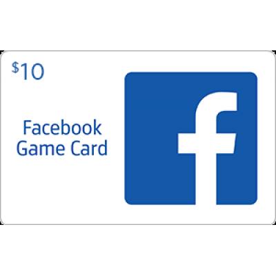 Facebook Game Card $10