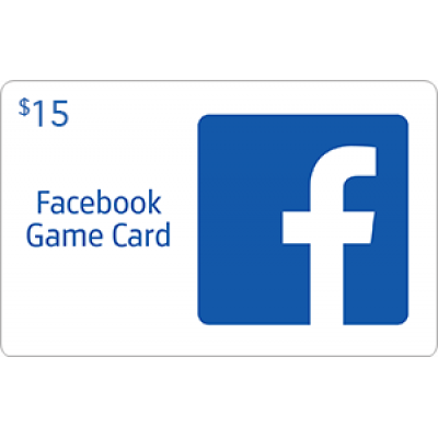 Facebook Game Card $15 [Digital Code]