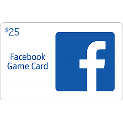 Facebook Game Card $25