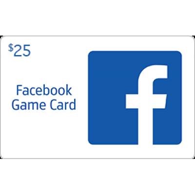 Facebook Game Card $25