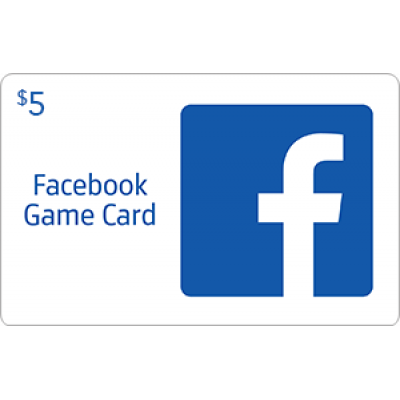 Facebook Game Card $5 [Digital Code]