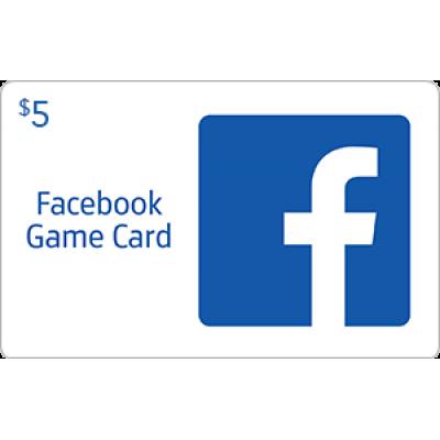 Facebook Game Card $5