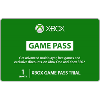 Xbox Live 1 Month Game Pass Trial