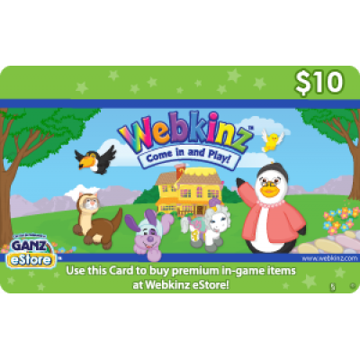 Webkinz $10