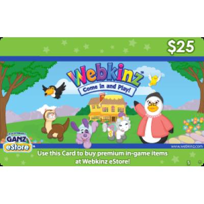 Webkinz $25 [Digital Code]